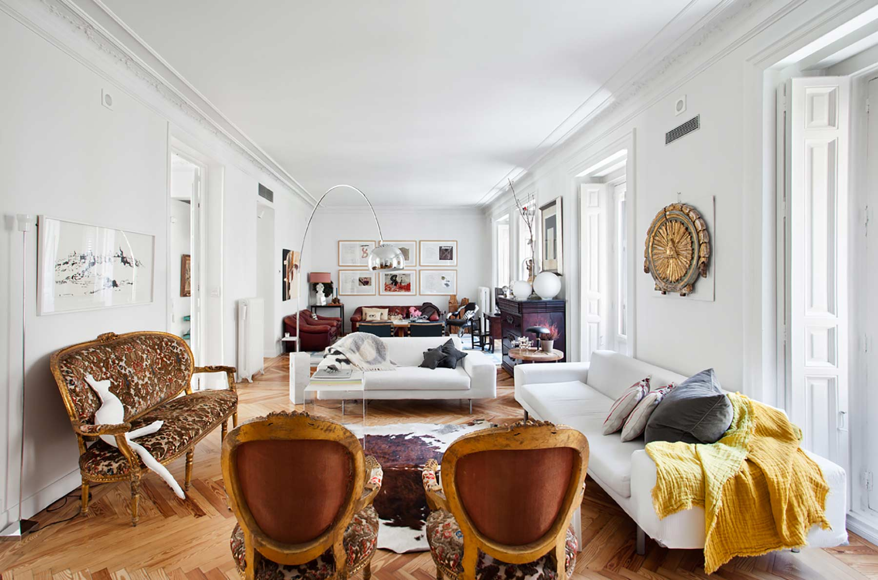 Madrid - Spain - Apartment , 4 rooms, 4 bedrooms - Slideshow Picture 2