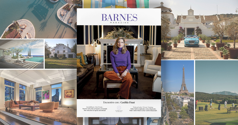Autumn-Winter 2021 edition of BARNES Magazine