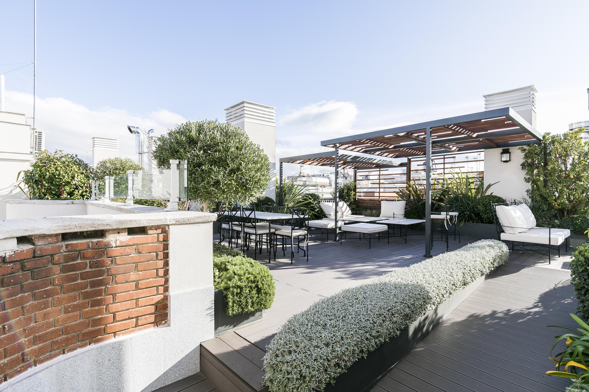 El aumento de la demanda de viviendas de lujo con terraza